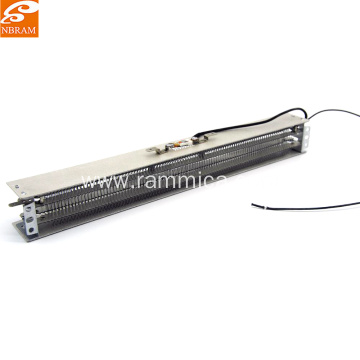 Wire Heating Element for Cross-Flow Fan